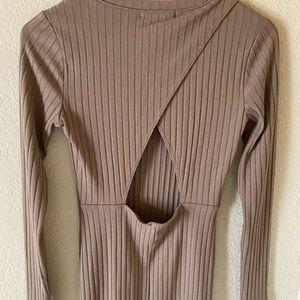 Tight long sleeve dress